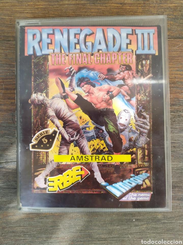 RENEGADE III. JUEGO AMSTRAD (Juguetes - Videojuegos y Consolas - Amstrad)