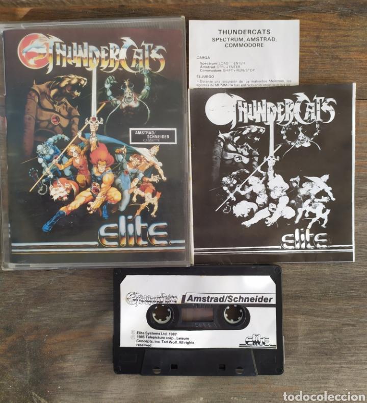 Videojuegos y Consolas: Thundercats, juego Amstrad. - Foto 2 - 194212506