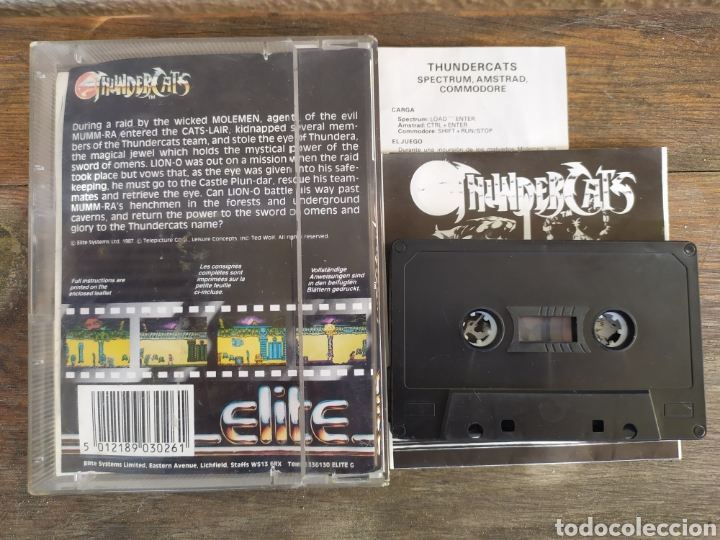 Videojuegos y Consolas: Thundercats, juego Amstrad. - Foto 3 - 194212506