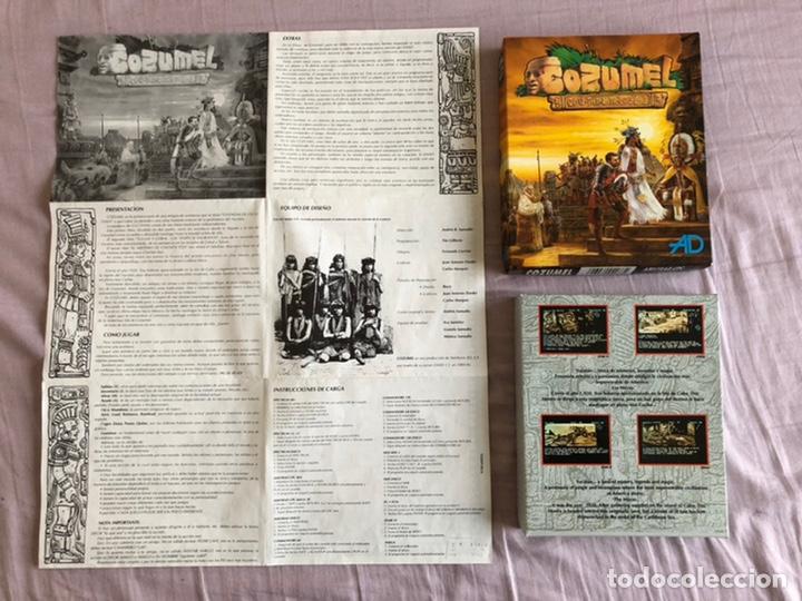 COZUMEL CAJA CARTÓN AMSTRAD CINTA (Juguetes - Videojuegos y Consolas - Amstrad)