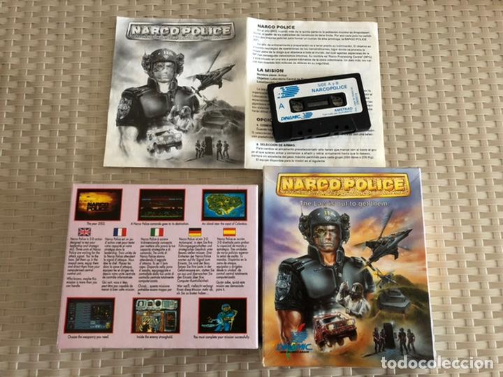 NARCO POLICE CAJA AMSTRAD CINTA (Juguetes - Videojuegos y Consolas - Amstrad)