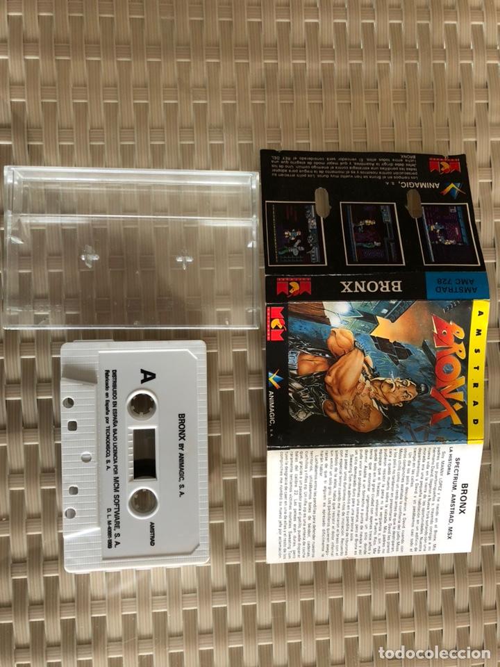 BRONX AMSTRAD CINTA (Juguetes - Videojuegos y Consolas - Amstrad)