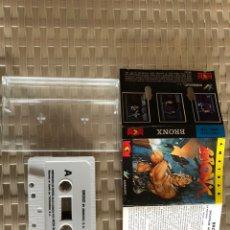 Videojuegos y Consolas: BRONX AMSTRAD CINTA. Lote 194248822
