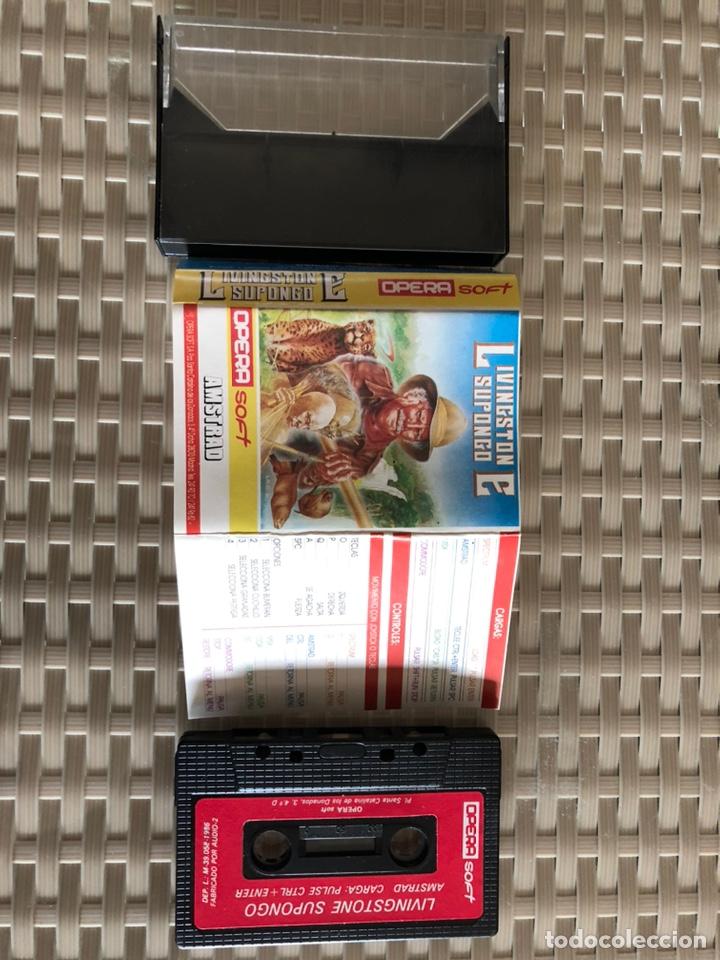 LIVINGSTONE SUPONGO (Juguetes - Videojuegos y Consolas - Amstrad)