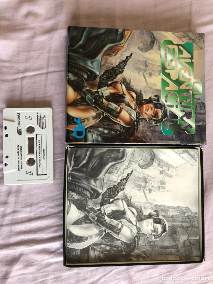 Videojuegos y Consolas: Aventura espacial caja cartón amstrad cinta - Foto 2 - 194249728