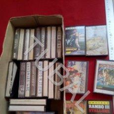 Videojuegos y Consolas: TUBAL LOTAZO JUEGOS AMSTRAD RAMBO III ETC TODO LO QUE VES ENVIO 5 € 2020. Lote 194334988