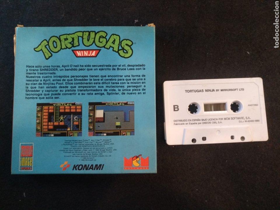 Videojuegos y Consolas: Tortugas ninja, juego Amstrad.Konami - Foto 2 - 194384868
