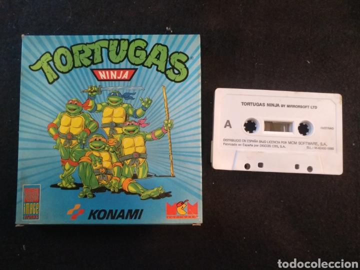 TORTUGAS NINJA, JUEGO AMSTRAD.KONAMI (Juguetes - Videojuegos y Consolas - Amstrad)