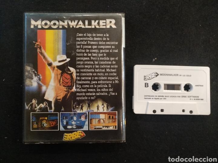Videojuegos y Consolas: Juego Amstrad, Michael Jackson, Moon Walker. - Foto 2 - 194498251