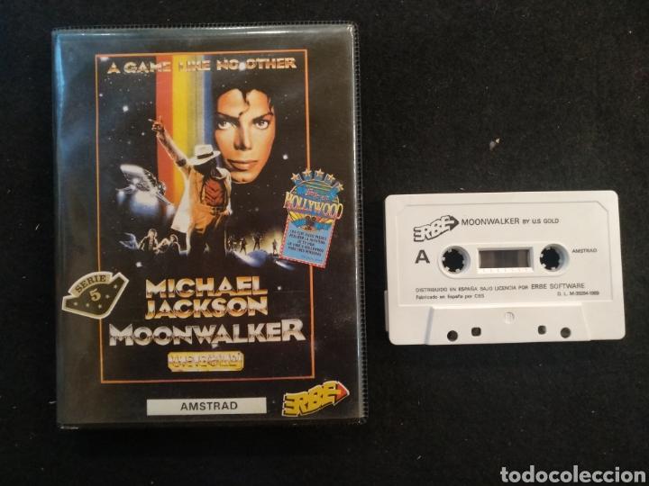 JUEGO AMSTRAD, MICHAEL JACKSON, MOON WALKER. (Juguetes - Videojuegos y Consolas - Amstrad)