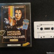 Videojuegos y Consolas: JUEGO AMSTRAD, MICHAEL JACKSON, MOON WALKER.. Lote 194498251