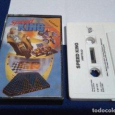 Videojuegos y Consolas: JUEGO DE ORDENADOR VIDEO CASETE AMSTRAD - SPEED KING - 1987. Lote 194643578