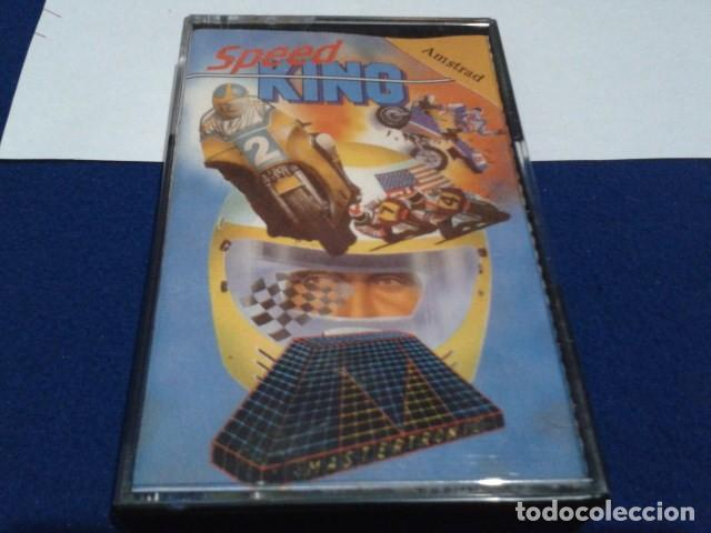 Videojuegos y Consolas: JUEGO DE ORDENADOR VIDEO CASETE AMSTRAD - SPEED KING - 1987 - Foto 2 - 194643578