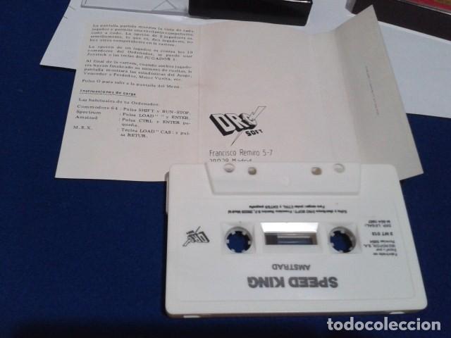 Videojuegos y Consolas: JUEGO DE ORDENADOR VIDEO CASETE AMSTRAD - SPEED KING - 1987 - Foto 6 - 194643578
