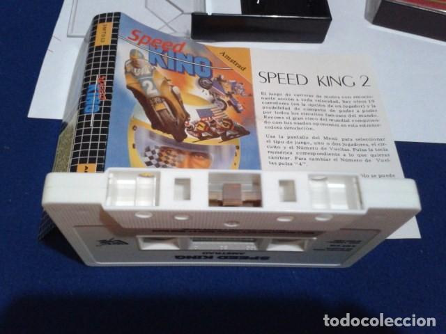 Videojuegos y Consolas: JUEGO DE ORDENADOR VIDEO CASETE AMSTRAD - SPEED KING - 1987 - Foto 7 - 194643578