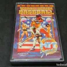 Videojuegos y Consolas: CASETE VIDEOJUEGO AMSTRAD - WORLD SERIES BASEBALL BY THE HIT SQUAD - 1989. Lote 194740382