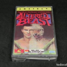 Videojuegos y Consolas: CASETE VIDEOJUEGO AMSTRAD - ALTERED BEAST - AWAKEN THE BEAST WHITIN YOU... BY ACTIVISION - 1989. Lote 194740928