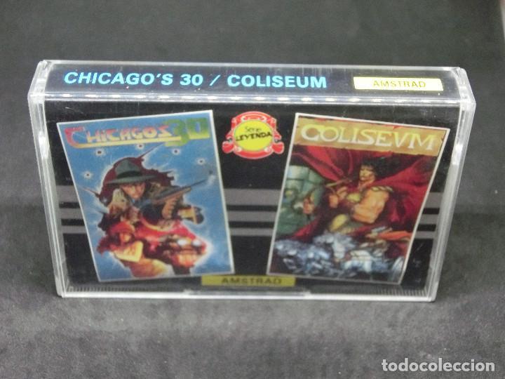 CASETE VIDEOJUEGO AMSTRAD - CHICAGO'S 30 COLISEUM - TOPO SOFT - 1988 (Juguetes - Videojuegos y Consolas - Amstrad)