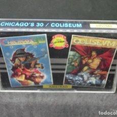 Videojuegos y Consolas: CASETE VIDEOJUEGO AMSTRAD - CHICAGO'S 30 COLISEUM - TOPO SOFT - 1988. Lote 194741141