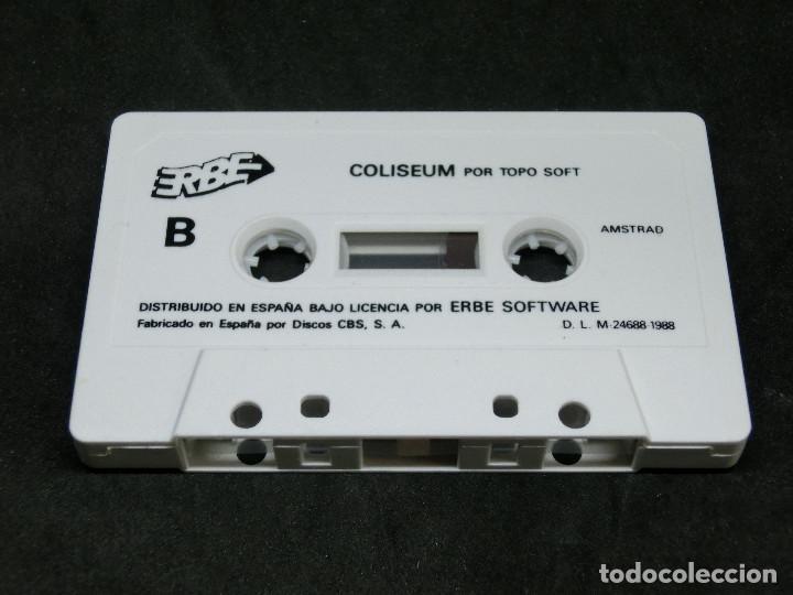 Videojuegos y Consolas: CASETE VIDEOJUEGO AMSTRAD - CHICAGOS 30 COLISEUM - TOPO SOFT - 1988 - Foto 4 - 194741141