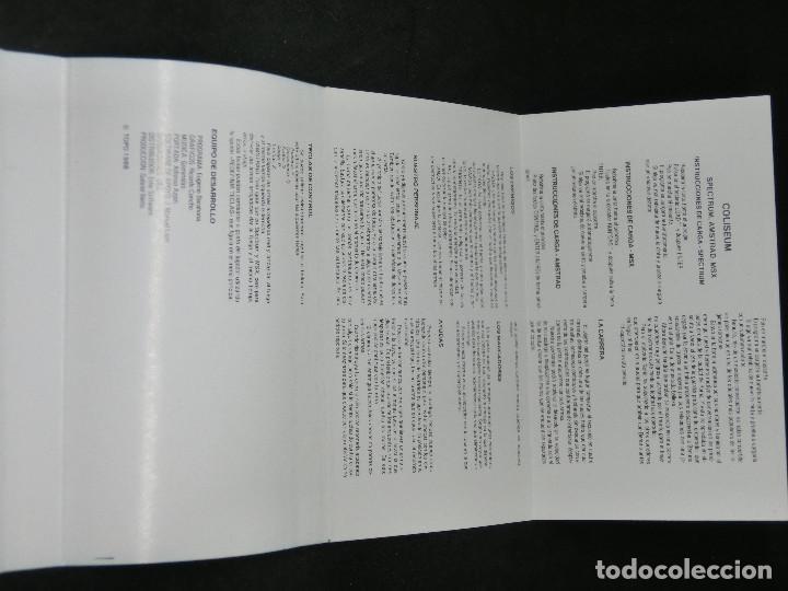 Videojuegos y Consolas: CASETE VIDEOJUEGO AMSTRAD - CHICAGOS 30 COLISEUM - TOPO SOFT - 1988 - Foto 6 - 194741141