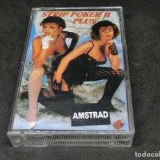 Videojuegos y Consolas: CASETE VIDEOJUEGO AMSTRAD - STRIP POKER PLUS II - 1988 2. Lote 194741357