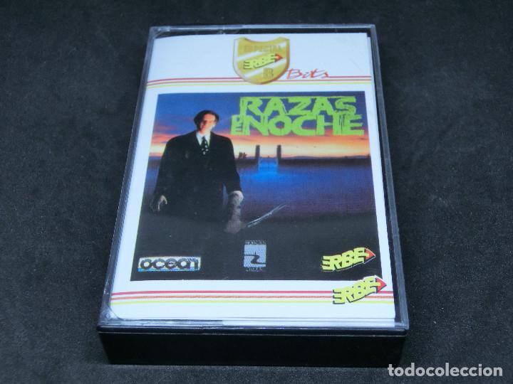 CASETE VIDEOJUEGO AMSTRAD - RAZAS DE NOCHE NIGHT BREED - 1990 ERBE (Juguetes - Videojuegos y Consolas - Amstrad)