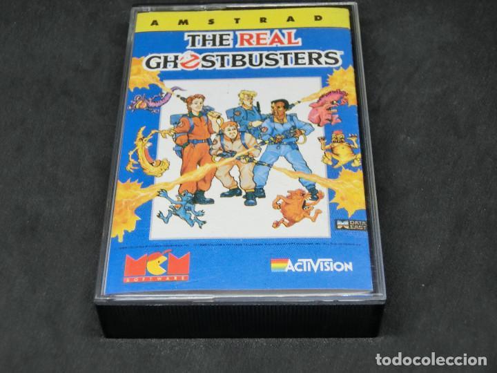 CASETE VIDEOJUEGO AMSTRAD - THE REAL GHOSTBUSTERS - 1989 ACTIVISION (Juguetes - Videojuegos y Consolas - Amstrad)