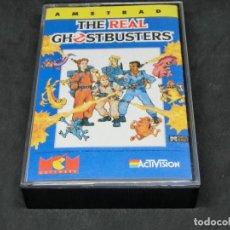 Videojuegos y Consolas: CASETE VIDEOJUEGO AMSTRAD - THE REAL GHOSTBUSTERS - 1989 ACTIVISION. Lote 194741741
