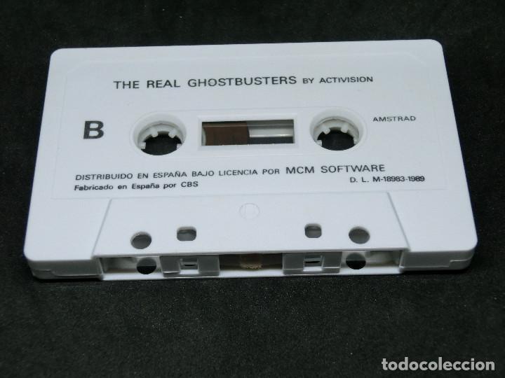 Videojuegos y Consolas: CASETE VIDEOJUEGO AMSTRAD - THE REAL GHOSTBUSTERS - 1989 ACTIVISION - Foto 3 - 194741741