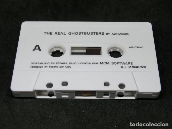 Videojuegos y Consolas: CASETE VIDEOJUEGO AMSTRAD - THE REAL GHOSTBUSTERS - 1989 ACTIVISION - Foto 4 - 194741741