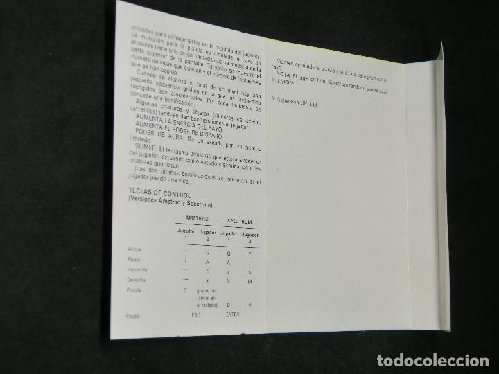 Videojuegos y Consolas: CASETE VIDEOJUEGO AMSTRAD - THE REAL GHOSTBUSTERS - 1989 ACTIVISION - Foto 6 - 194741741