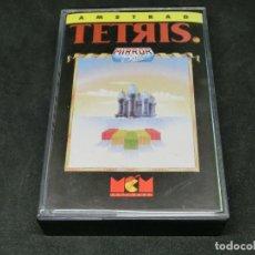 Videojuegos y Consolas: CASETE VIDEOJUEGO AMSTRAD - TETRIS - MIRROR SOFT - 1989. Lote 194741855