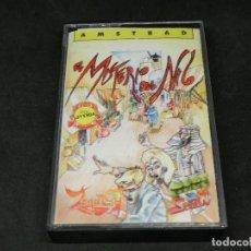 Videojuegos y Consolas: CASETE VIDEOJUEGO AMSTRAD - EL MISTERIO DEL NILO FROM ZIGURAT - 1987. Lote 194742023