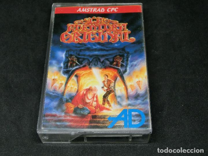 CASETE VIDEOJUEGO AMSTRAD - LA AVENTURA ORIGINAL - AVENTURA DINAMIC 1989 (Juguetes - Videojuegos y Consolas - Amstrad)