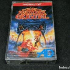 Videojuegos y Consolas: CASETE VIDEOJUEGO AMSTRAD - LA AVENTURA ORIGINAL - AVENTURA DINAMIC 1989. Lote 194742288