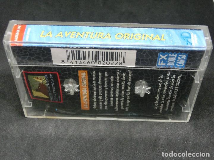 Videojuegos y Consolas: CASETE VIDEOJUEGO AMSTRAD - LA AVENTURA ORIGINAL - AVENTURA DINAMIC 1989 - Foto 2 - 194742288