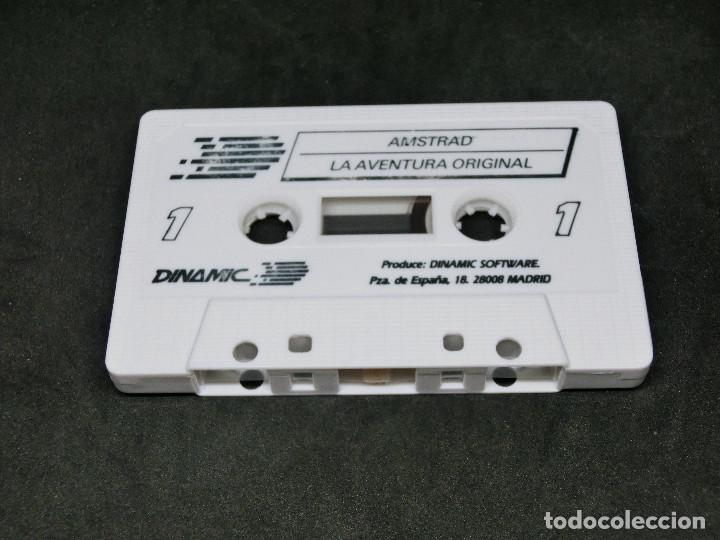 Videojuegos y Consolas: CASETE VIDEOJUEGO AMSTRAD - LA AVENTURA ORIGINAL - AVENTURA DINAMIC 1989 - Foto 3 - 194742288