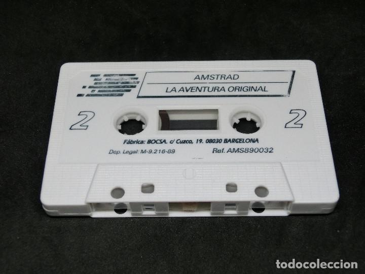Videojuegos y Consolas: CASETE VIDEOJUEGO AMSTRAD - LA AVENTURA ORIGINAL - AVENTURA DINAMIC 1989 - Foto 4 - 194742288