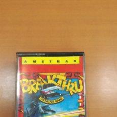 Videojuegos y Consolas: AMSTRAD BREAKTHRU. Lote 194754507
