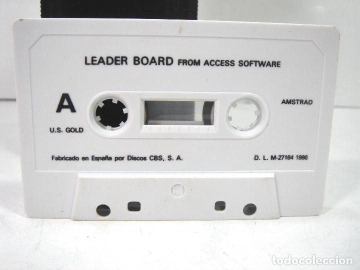 Videojuegos y Consolas: AMSTRAD - LEADER BOARD - US.GOLD 1986 -FUNDA INSTRUCCIONES - VIDEO JUEGO CASETTE CASETE CINTA - Foto 4 - 195039092