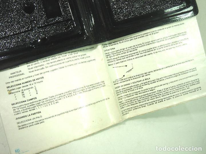Videojuegos y Consolas: AMSTRAD - LEADER BOARD - US.GOLD 1986 -FUNDA INSTRUCCIONES - VIDEO JUEGO CASETTE CASETE CINTA - Foto 5 - 195039092