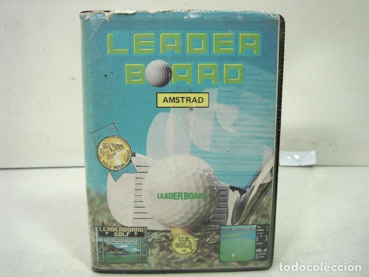 AMSTRAD - LEADER BOARD - US.GOLD 1986 -FUNDA INSTRUCCIONES - VIDEO JUEGO CASETTE CASETE CINTA (Juguetes - Videojuegos y Consolas - Amstrad)
