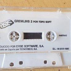 Videojuegos y Consolas: GREMLINS 2 POR TOPO SOFT,1990. Lote 195099916