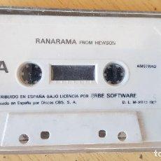 Videojuegos y Consolas: RANARAMA FROM HEWSON,1987. Lote 195099985
