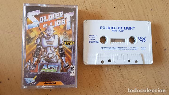SOLDIER OF LIGHT,1989 (Juguetes - Videojuegos y Consolas - Amstrad)