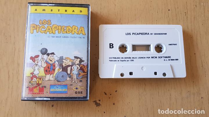LOS PICAPIEDRAS 1989 (Juguetes - Videojuegos y Consolas - Amstrad)