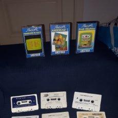Videojuegos y Consolas: LOTE 16 JUEGOS AMSTRAD CASETTE PHANTOM CLUB PHANTIS 2 TARGET RENEGADE SNOWSTRIKE..... Lote 195659306