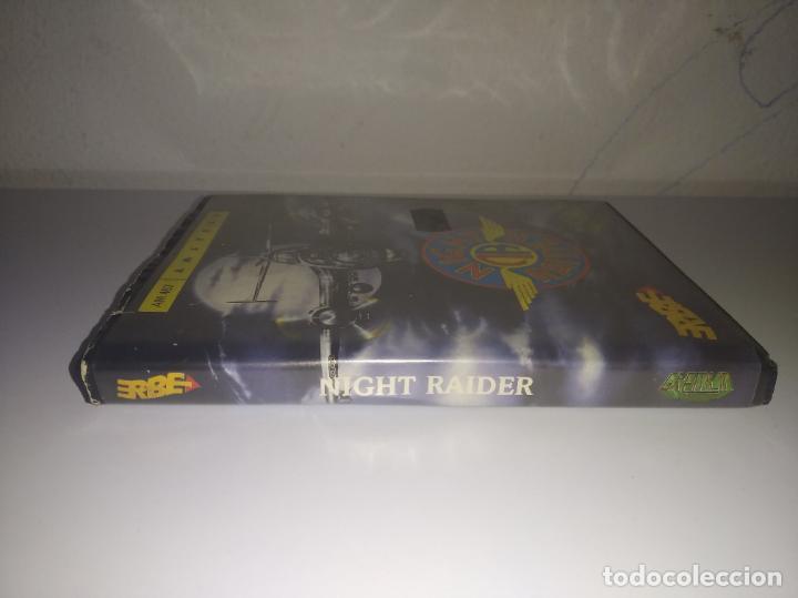Videojuegos y Consolas: juego Night raider estuche grande con instrucciones amstrad - Foto 2 - 195879232