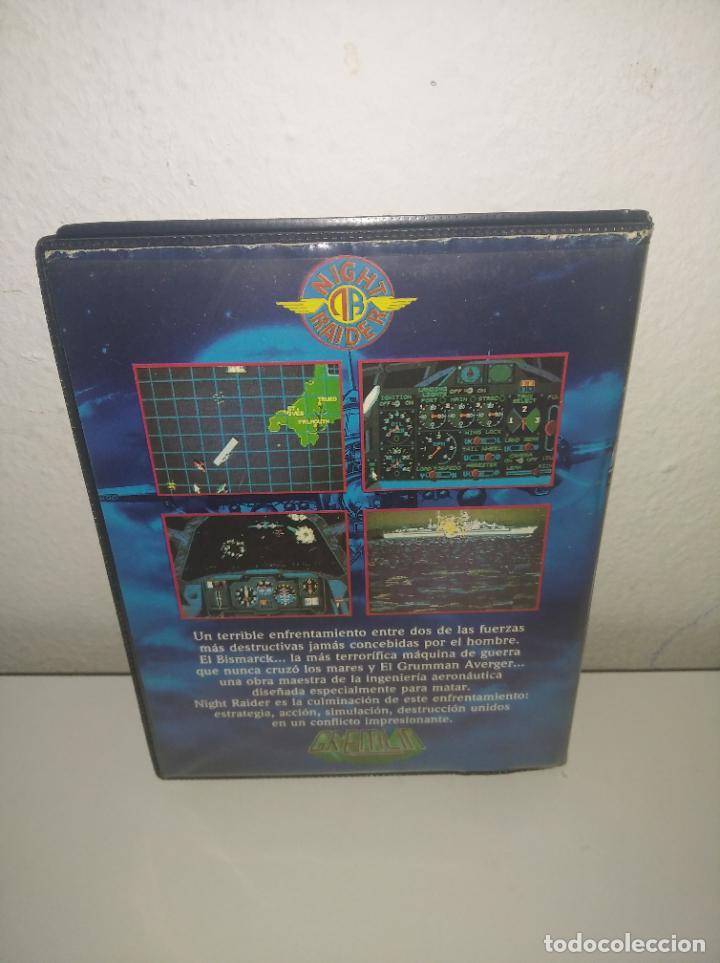 Videojuegos y Consolas: juego Night raider estuche grande con instrucciones amstrad - Foto 3 - 195879232